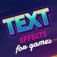 Text Effects For Games - GraphicRiver Item for Sale