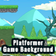 2D Platformer Mountain Game Background with Tile Sets & Objects - GraphicRiver Item for Sale