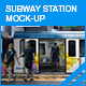Subway Station Mock-up - GraphicRiver Item for Sale
