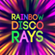 Rainbow Disco Rays - VideoHive Item for Sale