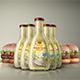 Sauce Bottle Mock-Up - GraphicRiver Item for Sale