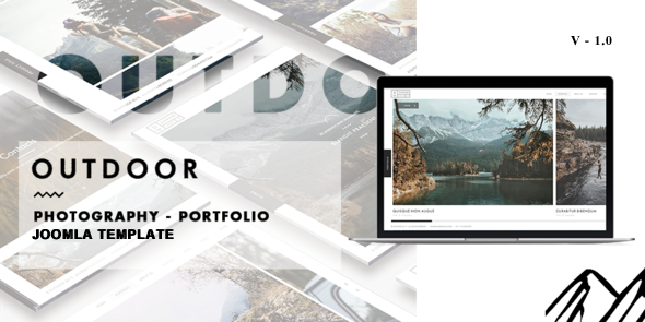 Outdoor – Creative Photography/Portfolio Joomla Template