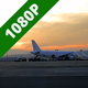Airport on Sunset - VideoHive Item for Sale