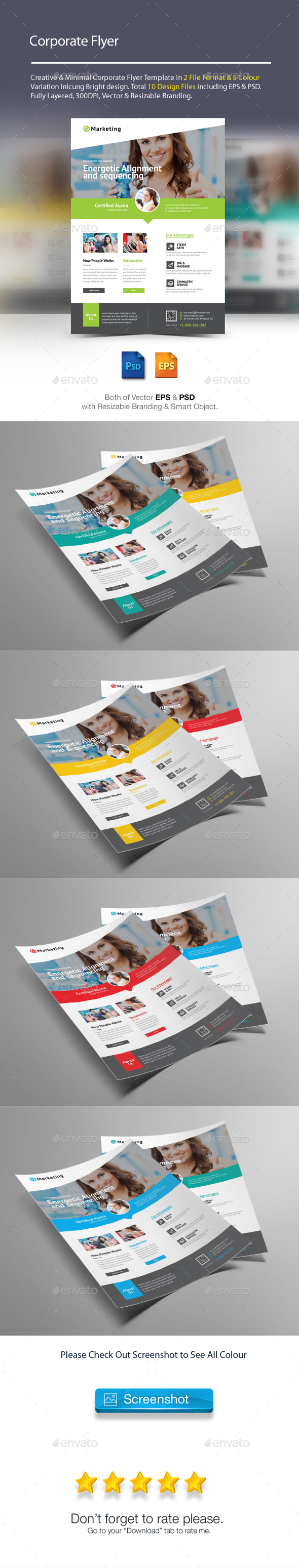 Fitness / Gym flyer - Corporate Flyers