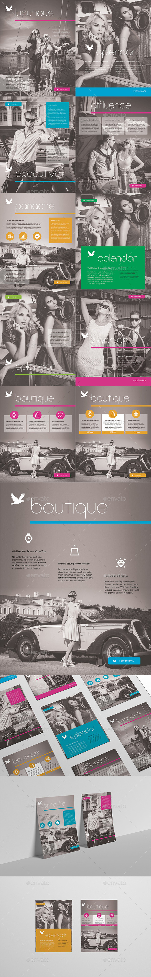 Professional Luxury Flyers & Adverts - Commerce Flyers