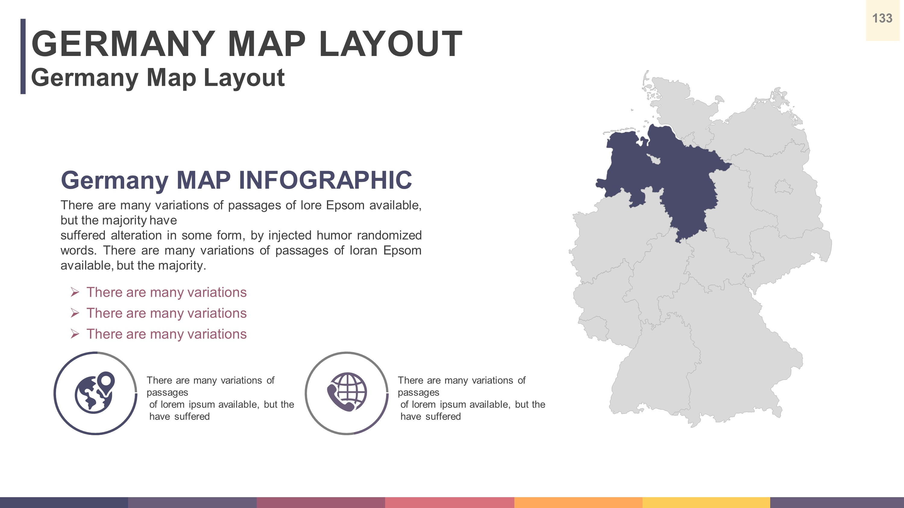 PRESTIGE PowerPoint Presentation Template By Solaandesign - Germany map template
