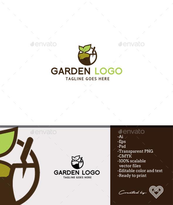 Garden Logo   Nature Logo Templates