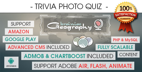 Photo Trivia Quiz With CMS - Android - CodeCanyon Item for Sale