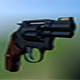 Low Poly Revolver  - 3DOcean Item for Sale