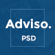 Adviso - Finance, Consulting, Business PSD Template! Nulled