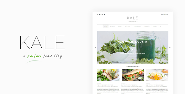 Kale – The Perfect Food and Personal Blog Theme