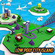 Low Poly City Island - 3DOcean Item for Sale