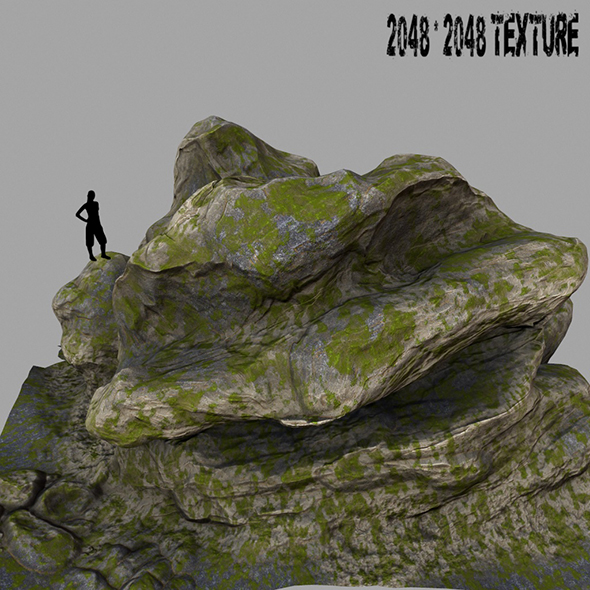 Mount_Rock 3 - 3DOcean Item for Sale