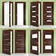 Italian Doors San Remo K Collection  Low - Poly - 3DOcean Item for Sale