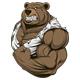Ferocious Bear  - GraphicRiver Item for Sale