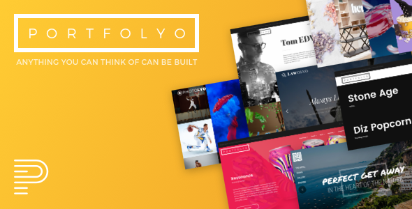Portfolyo – Creative Multi-Purpose WordPress Theme
