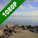 Calm Sea Old Pier Pan Right - VideoHive Item for Sale
