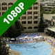 People at an Outdoor Pool during Summer - VideoHive Item for Sale