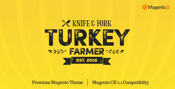 Turkey - Thanksgiving Magento 2 Theme