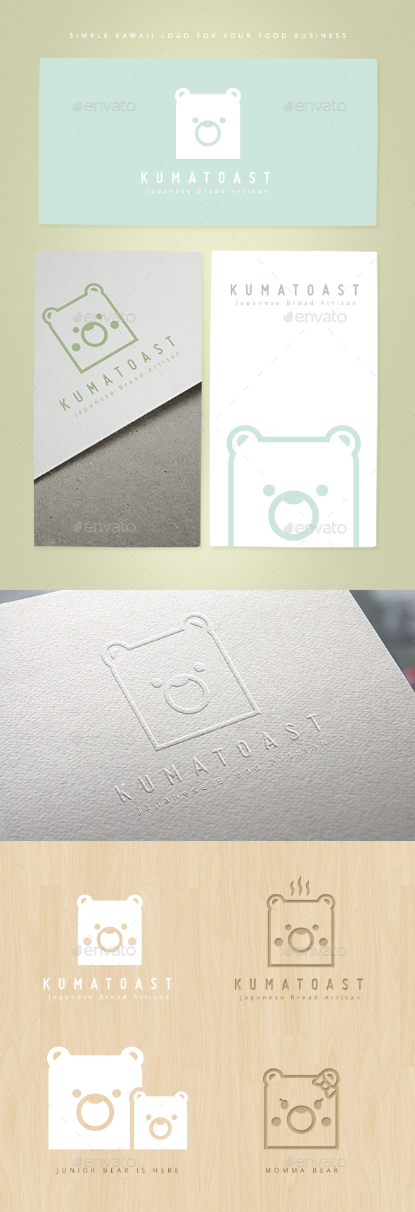 Kumatoast Logo Template - Animals Logo Templates