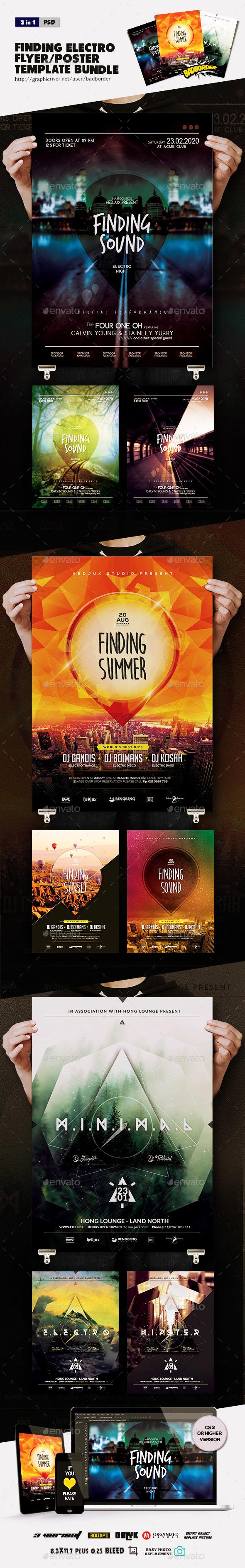 Bundle Of Finding Summer Flyer/Poster