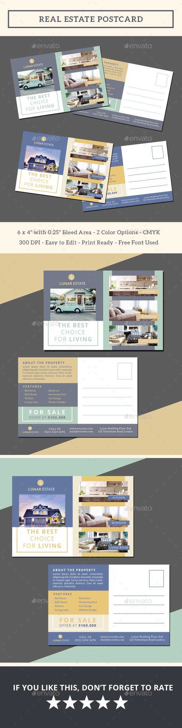 Real Estate Postcard - Commerce Flyers