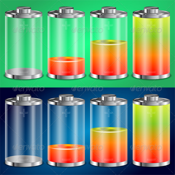 Battery Icon - Concepts Business