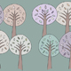 Storybook Trees Pattern - GraphicRiver Item for Sale