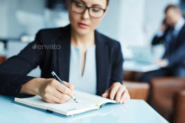 Making plans - Stock Photo - Images