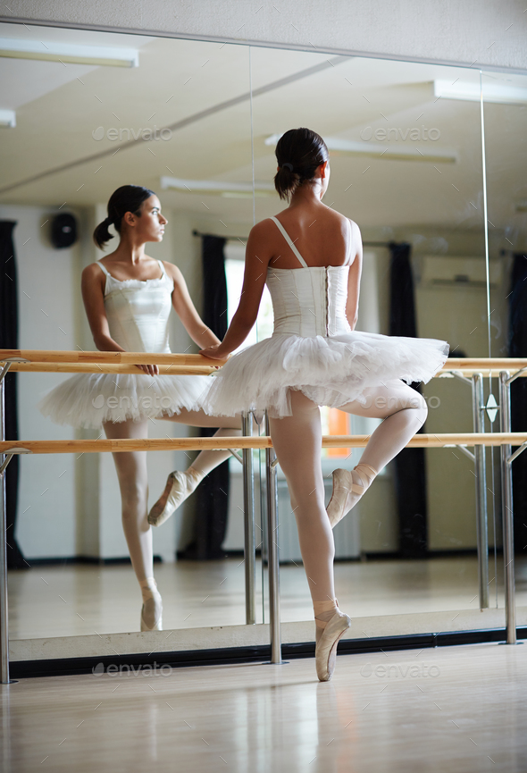 Ballerina dancing - Stock Photo - Images
