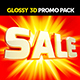 Glossy Promotional Advertising Pack Words - GraphicRiver Item for Sale