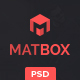 Matbox - Material Design Agency Template - ThemeForest Item for Sale