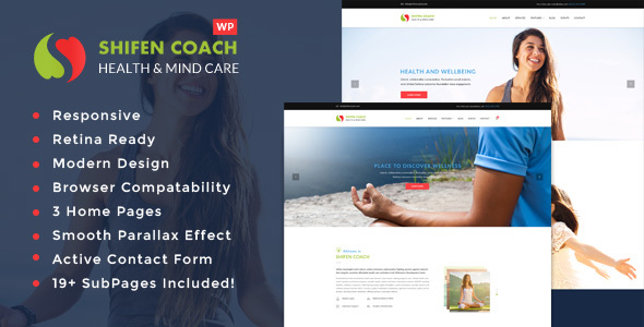 Shifen Coach – Personal Development Coach WordPress Theme