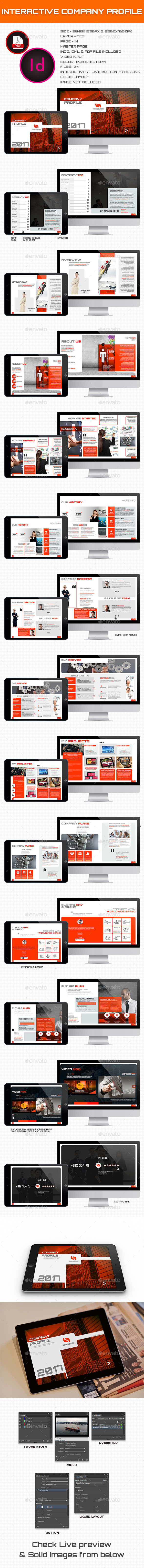Interactive Company Profile - ePublishing