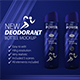 Deodorant Bottle Mock-Up
