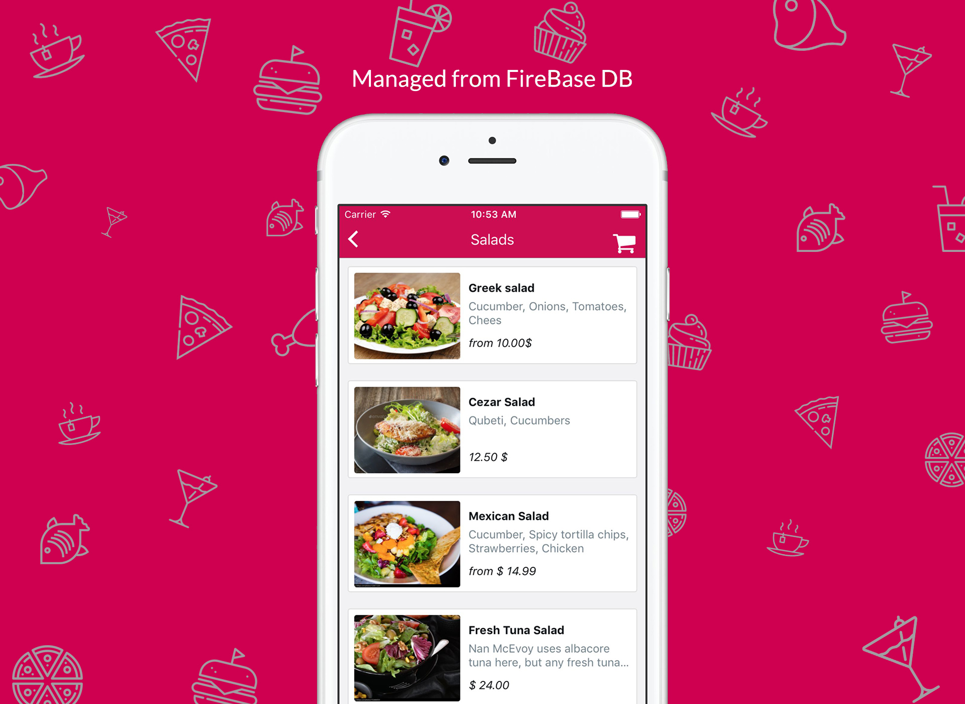 Restaurant App Template - React Native by mobidonia | CodeCanyon