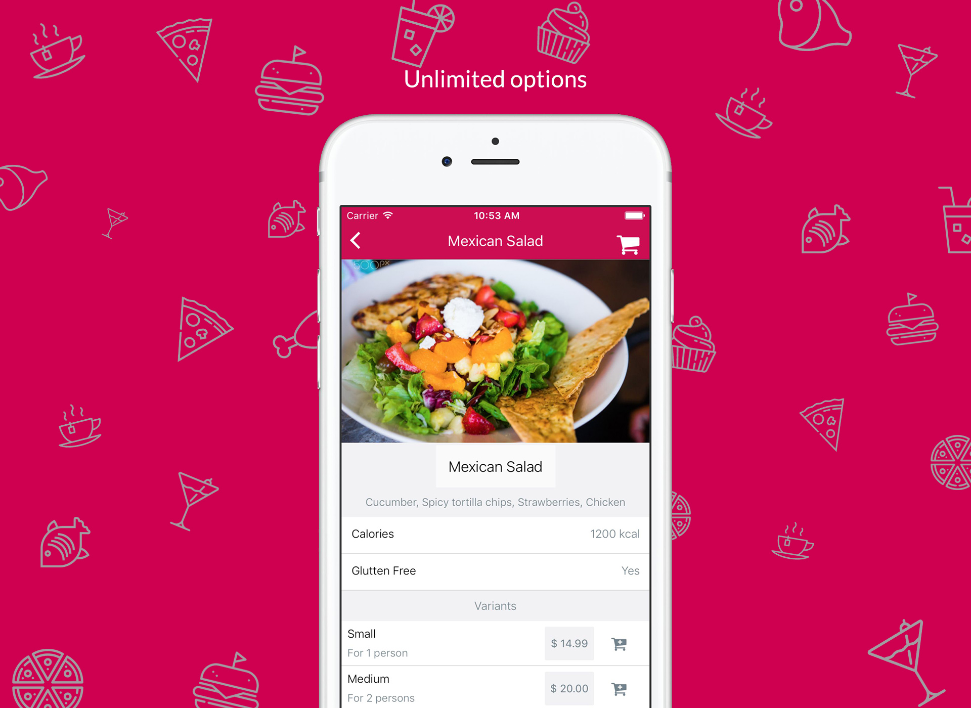 Restaurant app template react native by mobidonia