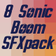 8 Sonic Boom Sound Pack - AudioJungle Item for Sale