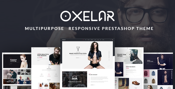 Image of Oxelar - New Theme for Prestashop with New Styles