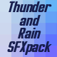 Thunder and Rain Sound Pack - AudioJungle Item for Sale