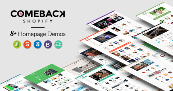 Comeback - Advanced Shopify Theme Option | Drag and Drop Page Builders - Shopify eCommerce