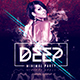 Deep Club Party | Minimal Flyer Template - GraphicRiver Item for Sale