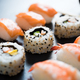 Sushi served on plate - PhotoDune Item for Sale