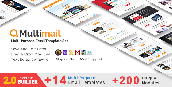 Passive - Responsive Email + MailBuild Online