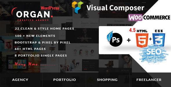 Organ - Multi-Purpose WordPress Theme - Corporate WordPress