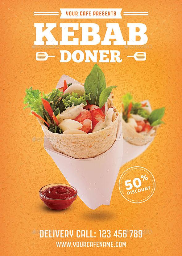 Doner Kebab  Flyer