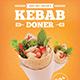 Doner Kebab  Flyer - GraphicRiver Item for Sale