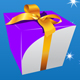 gift box 4 color  - GraphicRiver Item for Sale