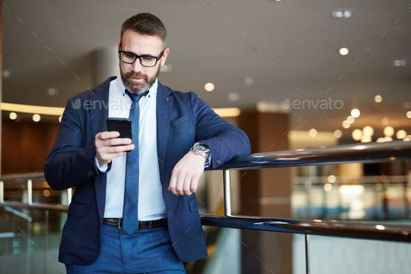 Sudden sms - Stock Photo - Images