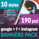 Banners Pack-1 - GraphicRiver Item for Sale